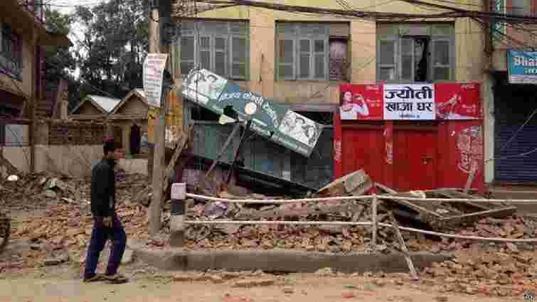 У Непалі стався землетрус магнітудою 7,9, є загиблі