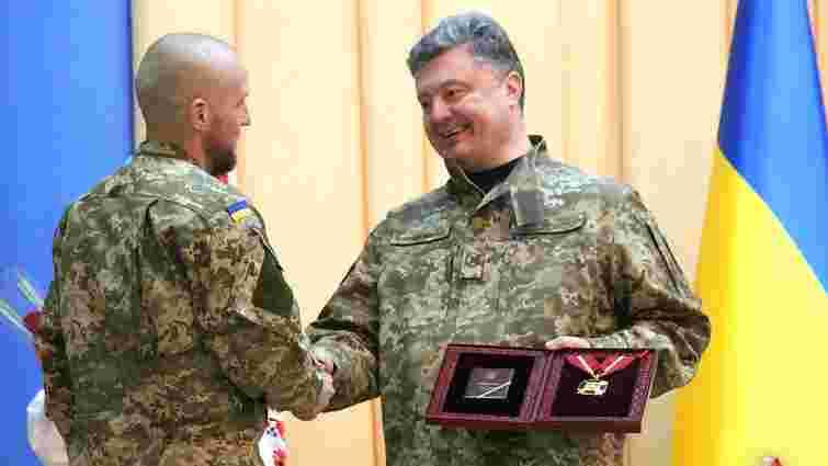 У ЗСУ з'явився перший повний кавалер ордена Хмельницького