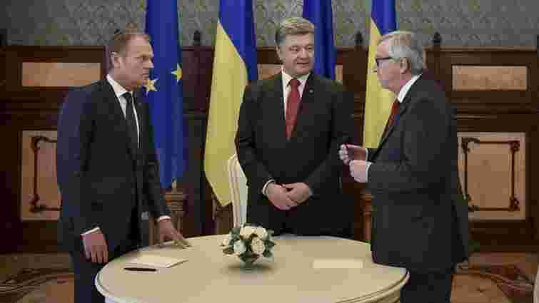 Про що домовились на саміті Україна-ЄС