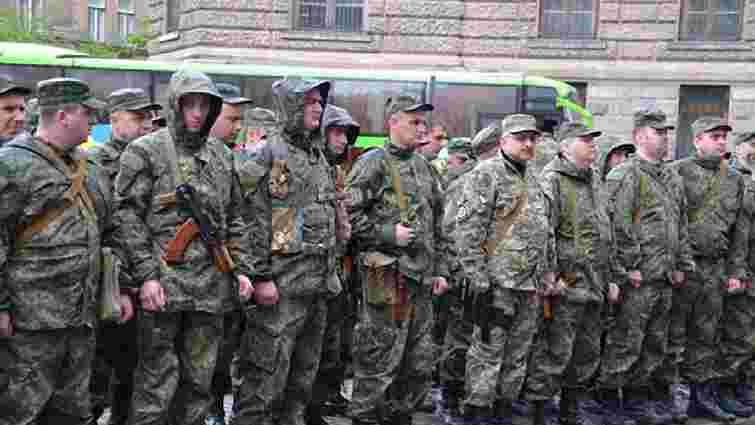 В зону АТО відправилася чергова група правоохоронців із Львівщини