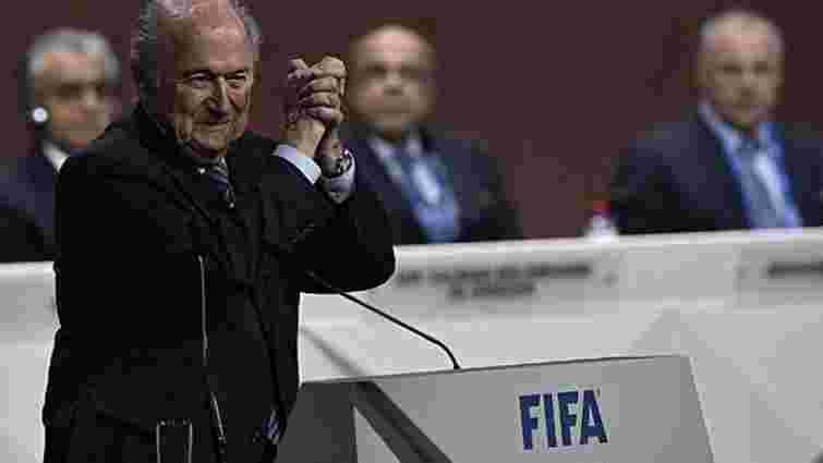 Йозеф Блаттер вп'яте став президентом ФІФА