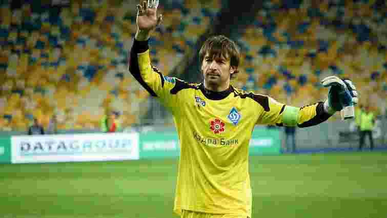 Олександр Шовковський провів 600-й матч у складі «Динамо»