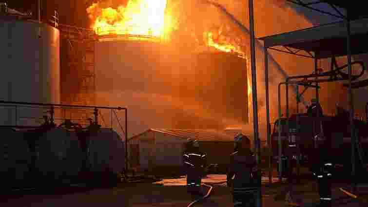 Пожежа під Києвом стала наймасштабнішою в Україні за 50 років