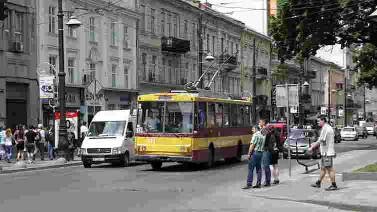 Від сьогодні тролейбус  №13 їздитиме проспектом Свободи