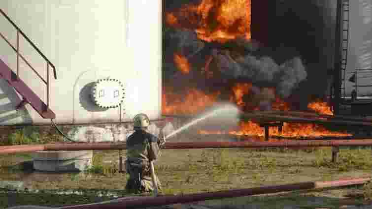 Міліція затримала фактичного керівника згорілої нафтобази