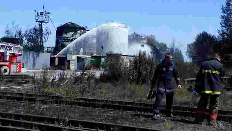 Надзвичайники повністю ліквідували пожежу нафтобази у Васильківському районі