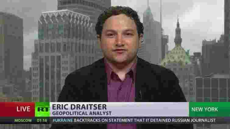 Russia Today зробила «відомого експерта з геополітики» із нью-йоркського страхового агента
