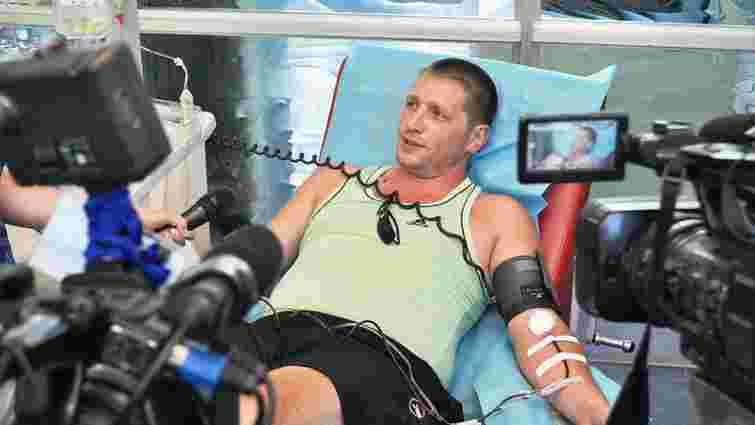 Від початку АТО на Дніпропетровщині зібрали майже 3000 літрів крові для поранених вояків