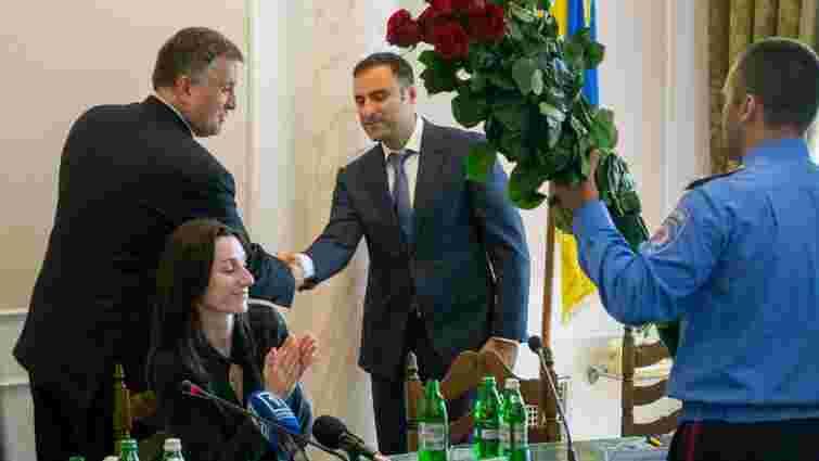 Грузин Георгій Лорткіпанідзе офіційно очолив міліцію Одеської області