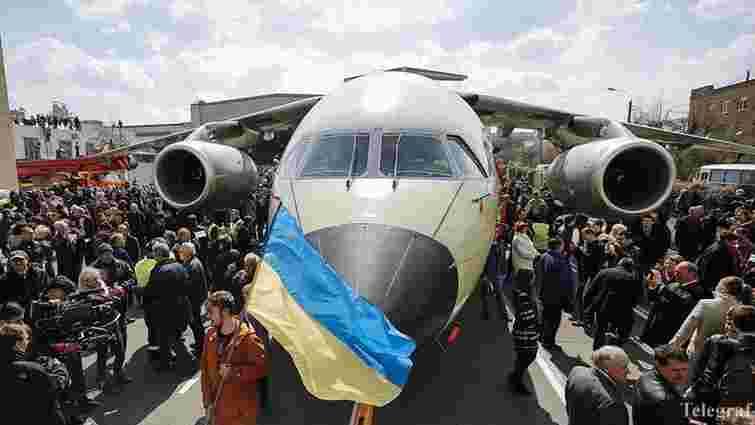 Росія заявила, що претендує на інтелектуальну власність розробки Ан-188