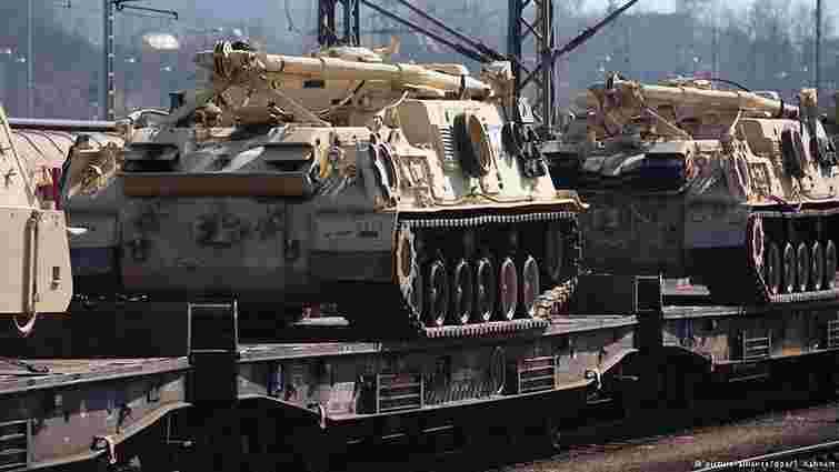США планують розташувати військову техніку в семи країнах ЄС