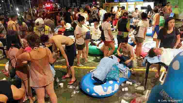 Кількість постраждалих від вибуху на дискотеці у Тайвані перевищила 500 осіб