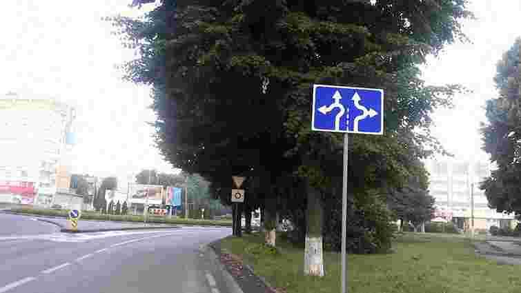 У Львові на перехресті Чорновола-Липинського змінився дорожній рух