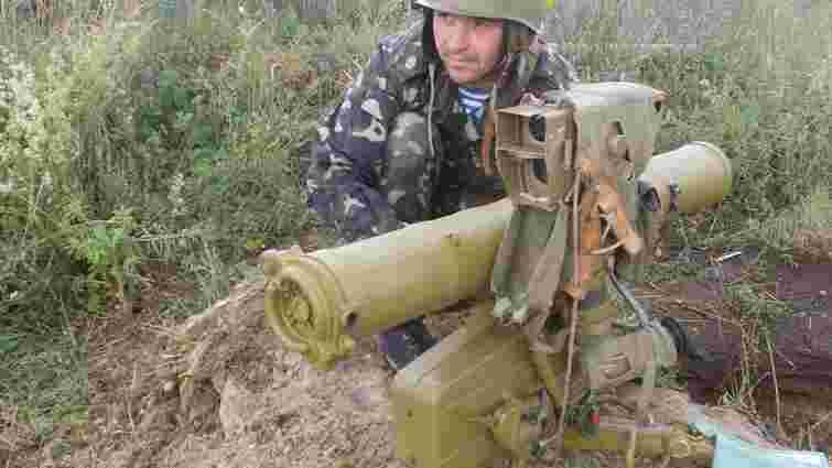 На Яворівському полігоні мобілізовані-артилеристи стріляли із «Градів» та «Фаготів»