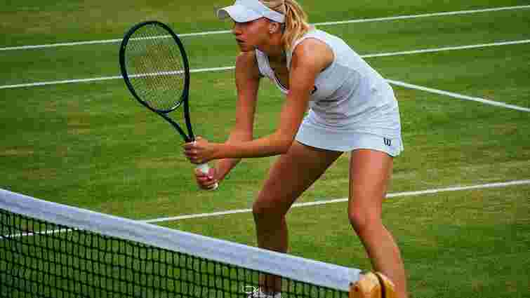 Тенісистка  Людмила Кіченок вийшла у другий раунд парного турніру на Вімблдоні