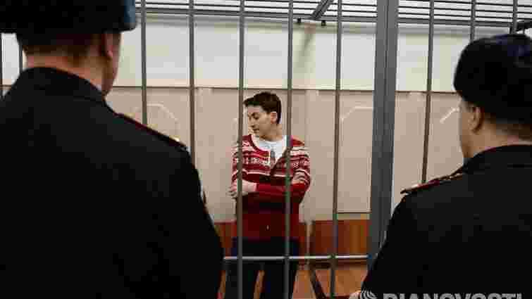 Надія Савченко вимагає суду присяжних
