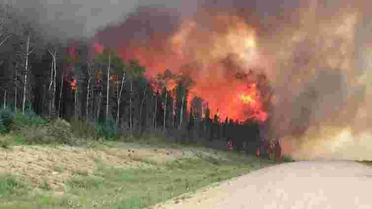 У Канаді спалахнули масштабні лісові пожежі