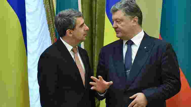 Порошенко наголосив на важливості для України болгарського досвіду реформ