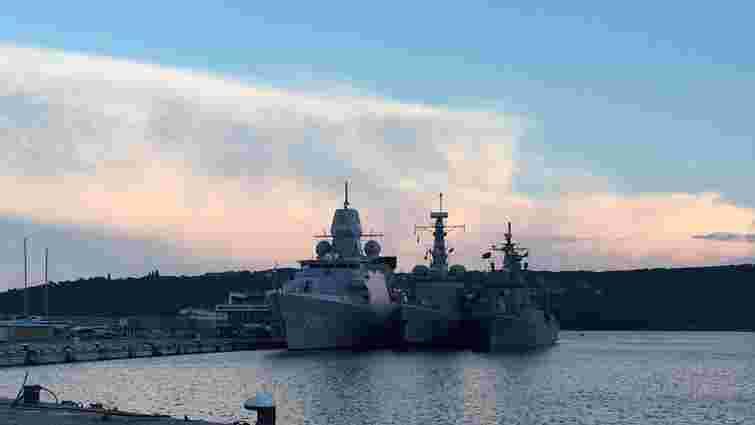 У Чорному морі стартували навчання НАТО «Бриз-2015»