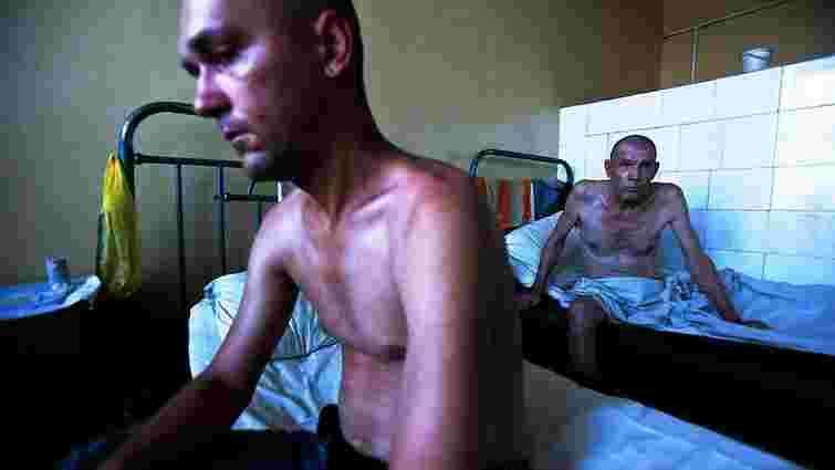 В Україні ВІЛ-інфіковані майже 5% в'язнів