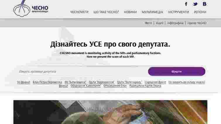 Рух ЧЕСНО вивчив спільні інтереси народних депутатів