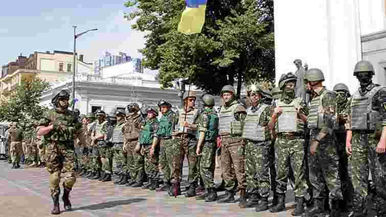 Добровольці 35 батальйонів МВС пообіцяли порядок в країні