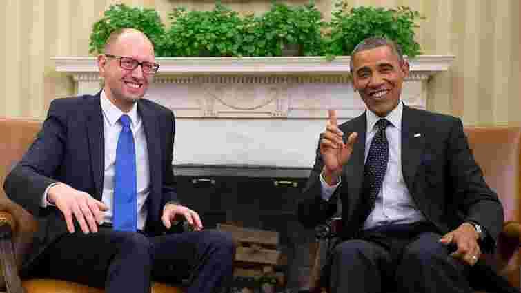 Обама запевнив Яценюка у непохитній підтримці України, - NYT