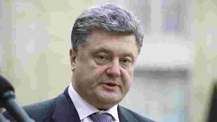 Порошенко зустрінеться з постраждалими внаслідок вибухів у Львові міліціонерами