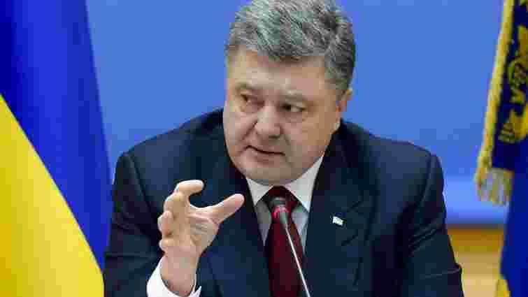 Порошенко заявив про зв'язок подій у Мукачевому і вибухів у Львові