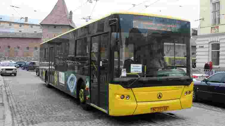 Львівські перевізники вимагають облаштувати для автобусів окрему смугу руху