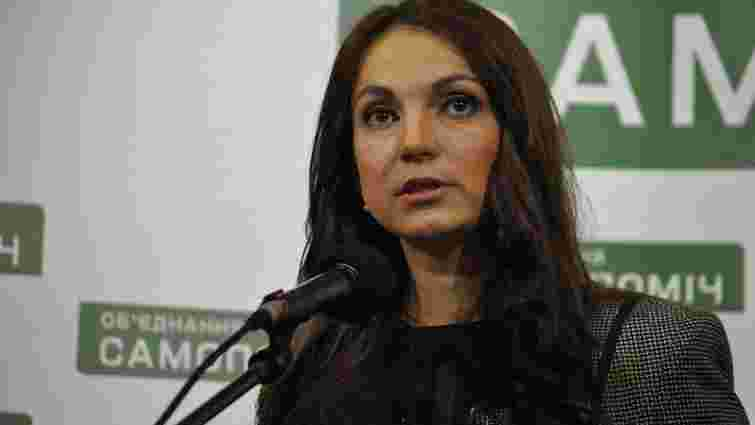 «Самопоміч» відкликала Гопко з посади голови парламентського комітету