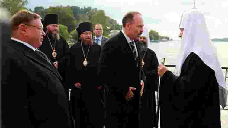 Як патріарх Кирило приплив до вірян на власній розкішній яхті (фото)