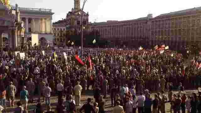«Правий сектор» на Майдані зібрав віче