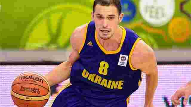 Один із кращих снайперів не зіграє за збірну України на Євробаскеті-2015