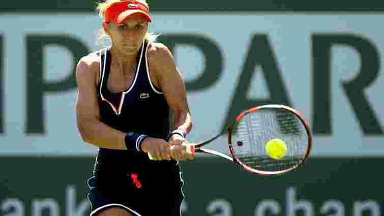 Українська тенісистка вийшла у чвертьфінал турніру у Стамбулі