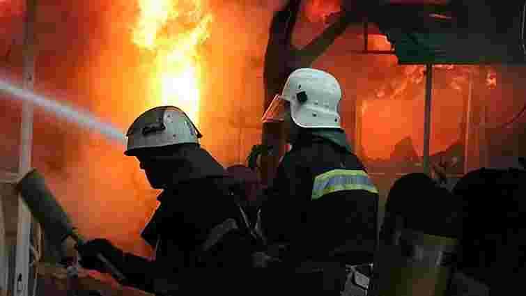 В Івано-Франківській області підпалили офіс «Правого сектора»