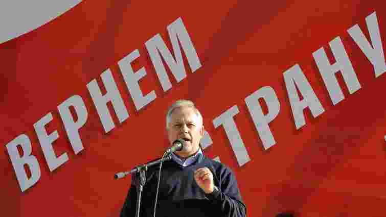 Симоненко заявив, що комуністи братимуть участь у виборах, незважаючи на заборони