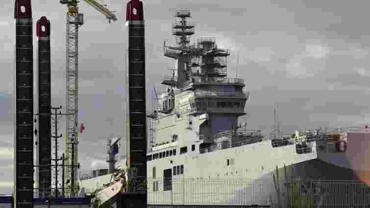 Росія готується демонтувати обладнання з неотриманих «Містралів»