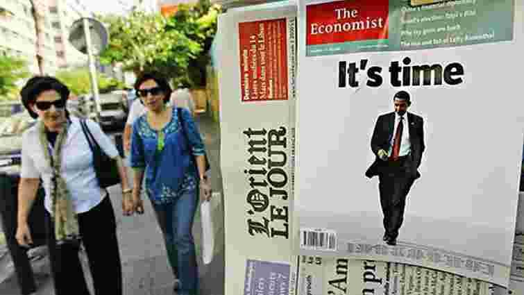 The Economist  виставили на продаж одразу після Financial Times