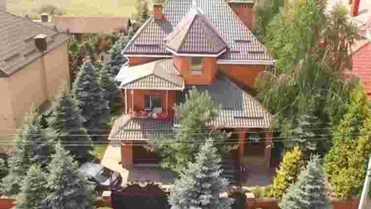 Автомайдан показав будинок «діамантового» прокурора, знятий з дрона