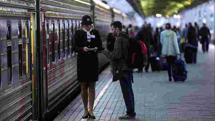 Повістки почали вручати пасажирам у потягах