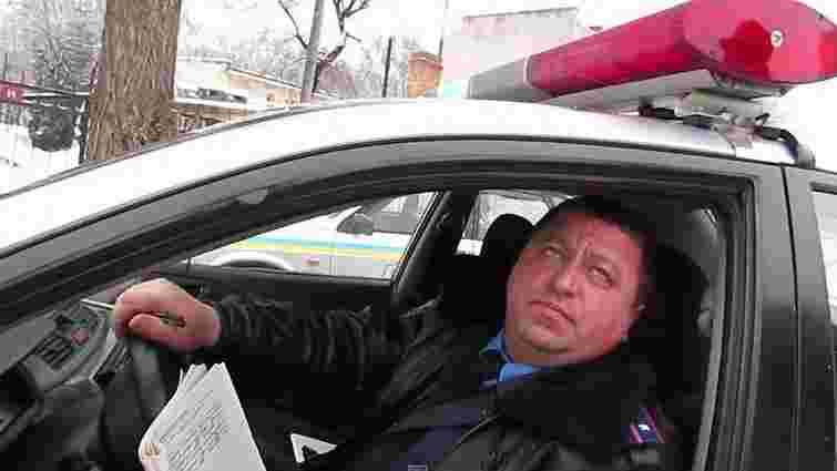 Львівського офіцера ДАІ, якого зловили п'яним за кермом, на рік позбавили водійських прав