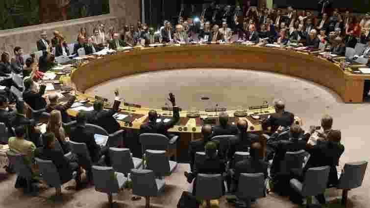 Порошенко: голосування на Радбезі ООН «говорить саме за себе»