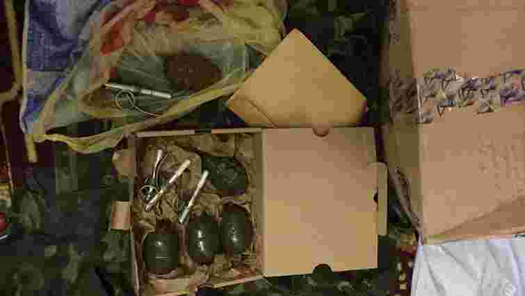 На Харківщині СБУ вилучила посилку з гранатами