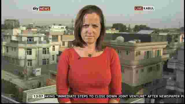 СБУ вигнала з України репортера SkyNews через її причетність до обстрілів сил АТО бойовиками