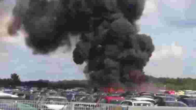 Неподалік Лондона розбився літак, що міг належати сім'ї Усами бен Ладена
