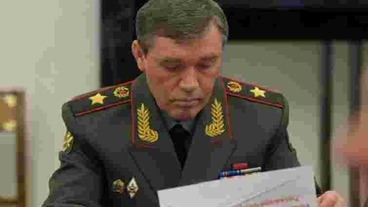 СБУ підозрює начальника Генштабу ЗС РФ у розв'язуванні війни в Україні