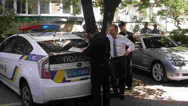 У Києві поліція виписала штраф на авто, в якому перебував «діамантовий» прокурор