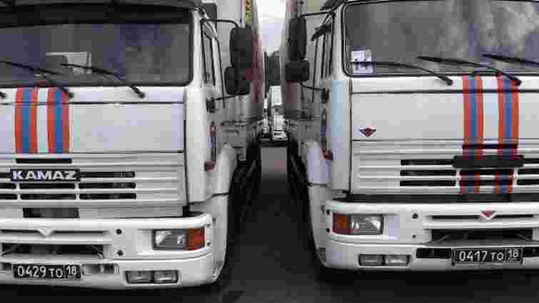 Росія в серпні відправить на Донбас три «гумконвої»
