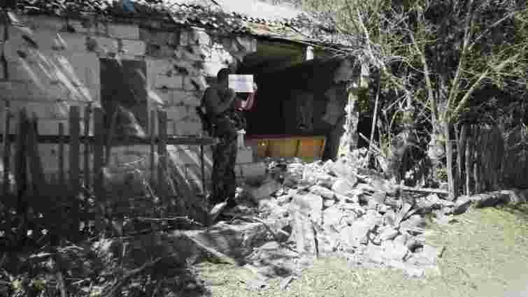 Спостерігачі СЦКК показали, як терористи руйнують Гранітне (фото)